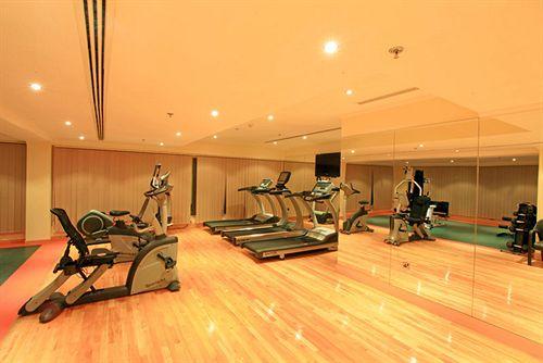 الصالة الرياضية في فندق كورال الدوحة