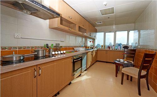 مطبخ شقق الصفا الفندقية الدوحة