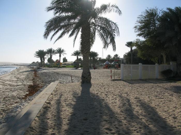 شواطئ رملية في قطر