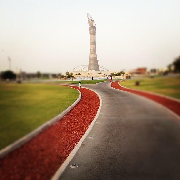 حديقة اسباير بارك في الدوحة Aspire Park