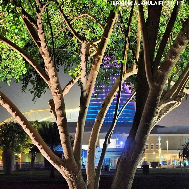 الحدائق في مدينة الدوحة