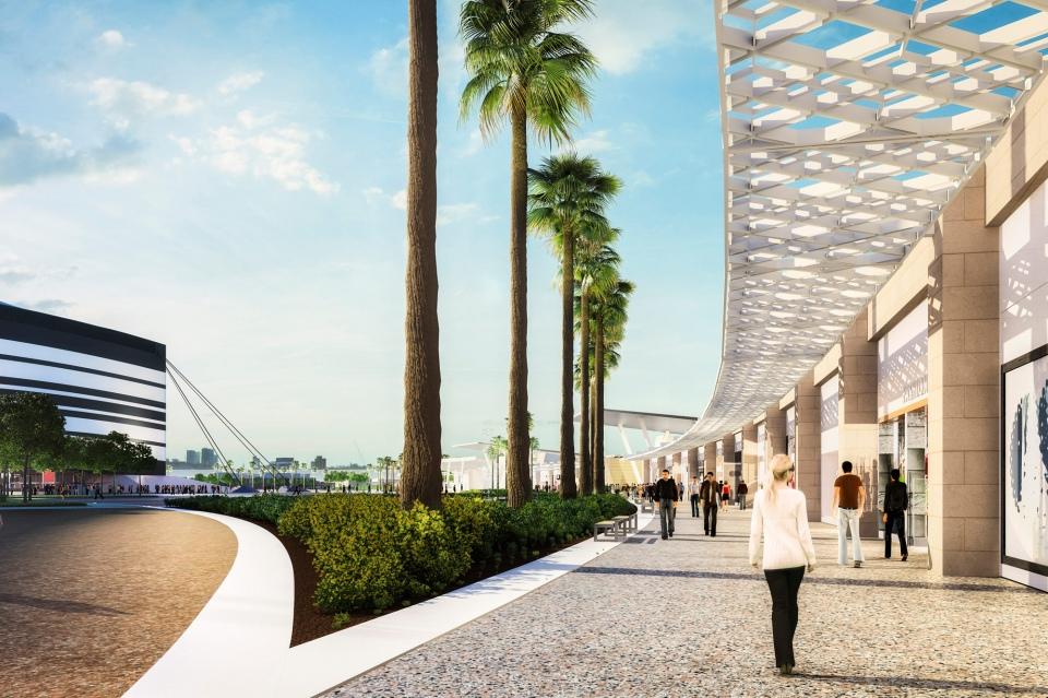 استاد البيت في قطر بمدينة الخور Bayt Stadium Khor City