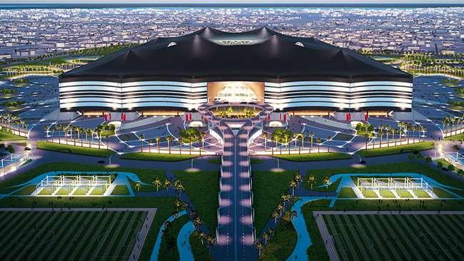 استاد رياض شكل بيت شعر في قطر
